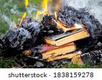 Books On Fire  Burning Books A...