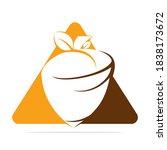 creative acorn concept logo... | Shutterstock .eps vector #1838173672