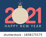 2021 happy new year vector...   Shutterstock .eps vector #1838175175