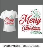 merry christmas shirt ...   Shutterstock .eps vector #1838178838
