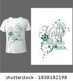 merry christmas shirt ...   Shutterstock .eps vector #1838182198