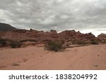 Red Canyon. View Of The Arid...