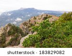 mountain landscape. crimea | Shutterstock . vector #183829082