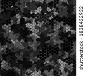 camouflage seamless pattern... | Shutterstock .eps vector #1838432932
