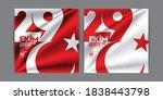 29 october republic day in...   Shutterstock .eps vector #1838443798