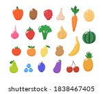 fruits and vegetables... | Shutterstock .eps vector #1838467405