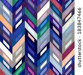 color abstract retro vector... | Shutterstock .eps vector #183847466
