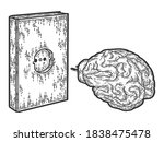 Book Charging Brain Concept....
