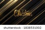 merry christmas. vector holiday ...   Shutterstock .eps vector #1838531002