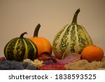 holiday decoration with multi... | Shutterstock . vector #1838593525