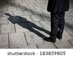 Floor With Shadow Of A...