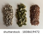 Three Groups Of Seeds. From...