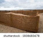 Hessian Type Fence...