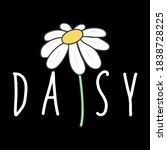 Vector Illustration Of A Daisy...
