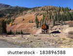 Old Abandoned Mining Shaft In...