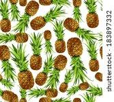 seamless natural organic sweet... | Shutterstock .eps vector #183897332