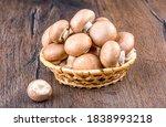 Champignon Mushrooms In A...