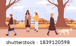 people in warm clothes  outdoor ...   Shutterstock .eps vector #1839120598