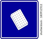 mattress symbol | Shutterstock .eps vector #183912512