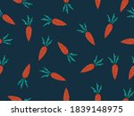 abstract fruits   seamless... | Shutterstock .eps vector #1839148975