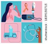 world copd awareness month... | Shutterstock .eps vector #1839150715