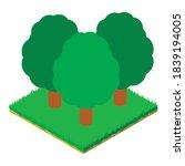 Deciduous Forest Icon....