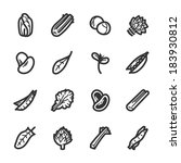 vegetables icons. professional...   Shutterstock .eps vector #183930812
