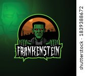 Frankenstein Mascot Cartoon...