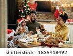 Joyful African American Family...