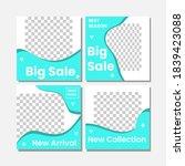 social media template set... | Shutterstock .eps vector #1839423088