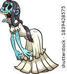la llorona mexican crying ghost.... | Shutterstock .eps vector #1839428575