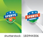 clean and modern sports vector... | Shutterstock .eps vector #183944306