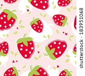 seamless pattern with... | Shutterstock .eps vector #183951068