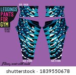 legging pants for gym ready to... | Shutterstock .eps vector #1839550678