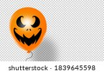 halloween party banner  with ... | Shutterstock .eps vector #1839645598