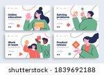 set of presentation slide... | Shutterstock .eps vector #1839692188