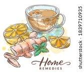 Herbal Tea With Chamomile ...