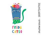 Frida Catlo. Picture Of Frida...