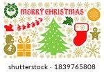 merry christmas concept... | Shutterstock . vector #1839765808