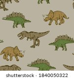 seamless repeat pattern of t... | Shutterstock .eps vector #1840050322