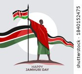 kenya independence day or happy ... | Shutterstock .eps vector #1840152475