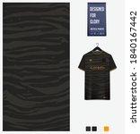 fabric pattern design. tiger... | Shutterstock .eps vector #1840167442
