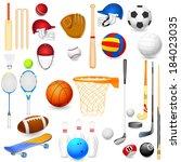 vector illustration of... | Shutterstock .eps vector #184023035