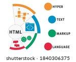html   hyper text markup...   Shutterstock .eps vector #1840306375