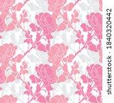 elegant seamless pattern with... | Shutterstock .eps vector #1840320442