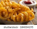 Spicy Seasoned Curly Fries...