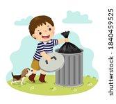 vector illustration cartoon of... | Shutterstock .eps vector #1840459525