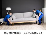 professional movers moving... | Shutterstock . vector #1840535785