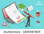 3d isometric flat vector... | Shutterstock .eps vector #1840587805