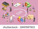 3d isometric flat vector...   Shutterstock .eps vector #1840587832